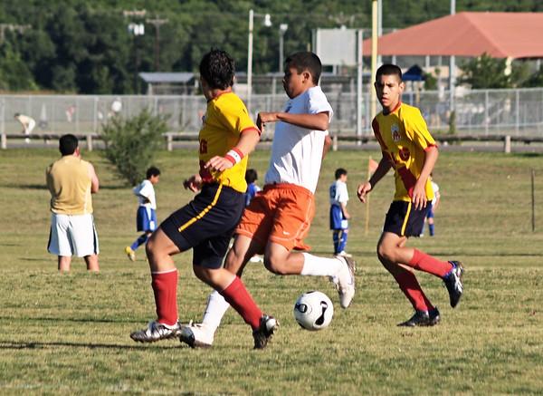 Ranger Soccer vs. Los Monarcos 5.18.2008