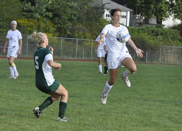 NBHS Lady Lions Soccer vs. Riverside - 9.16.09