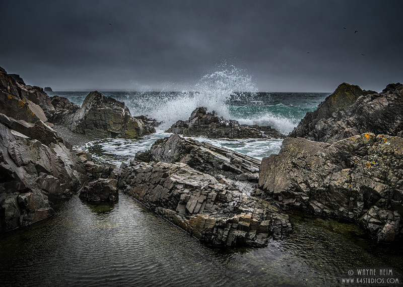 Breakers  Photography by Wayne Heim