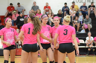 Volleyball vs. Fairless (Volley for the Cure)