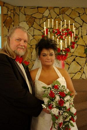 Melanie and Randy's Wedding Day