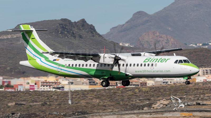 Binter Canarias / ATR-72-500 / EC-MHI