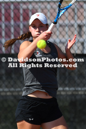 2020-21 Women's Tennis vs Gardner-Webb