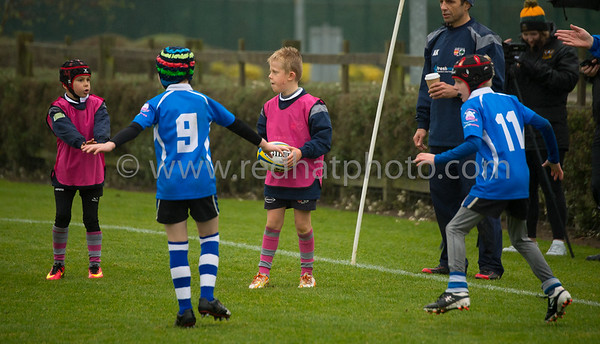 Under 9s tournament, Franklin's Gardens, 12 November 2016