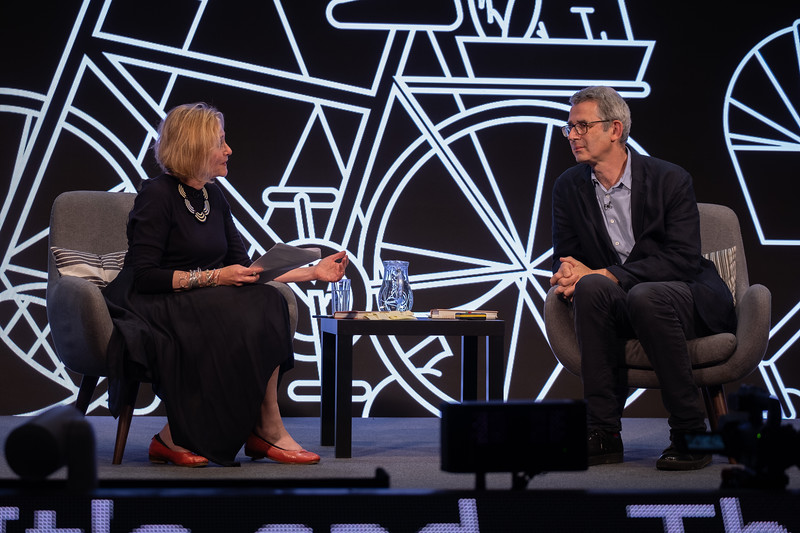 Edmund de Waal in conversation with Lennie Goodings at the 2021 Edinburgh International Book Festival