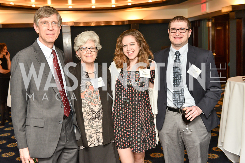 Mike Carome, Gail Carome, Mary Carome, Brian Carome, Public Citizen's Gala, National Press Club, April 24, 2018-6343.JPG