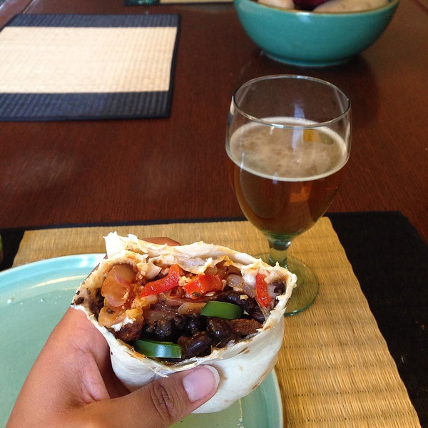 That_amazing_feeling_when_your_non-vegan_soon-to-be_surprises_you_with_a_vegan_dinner_after_a_long_day__hell__long_WEEK_._So_much_love_for__marshallhayes_-_spicy_potato__black_bean__fajita_burrito_with_chili_beer._Comfort_food_and_cruelty_free._This_.jpg