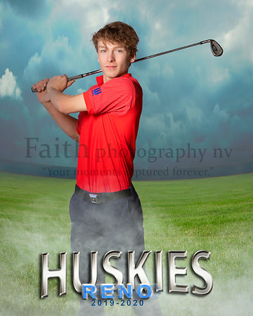 RHS BOYS GOLF Portraits 2019-2020
