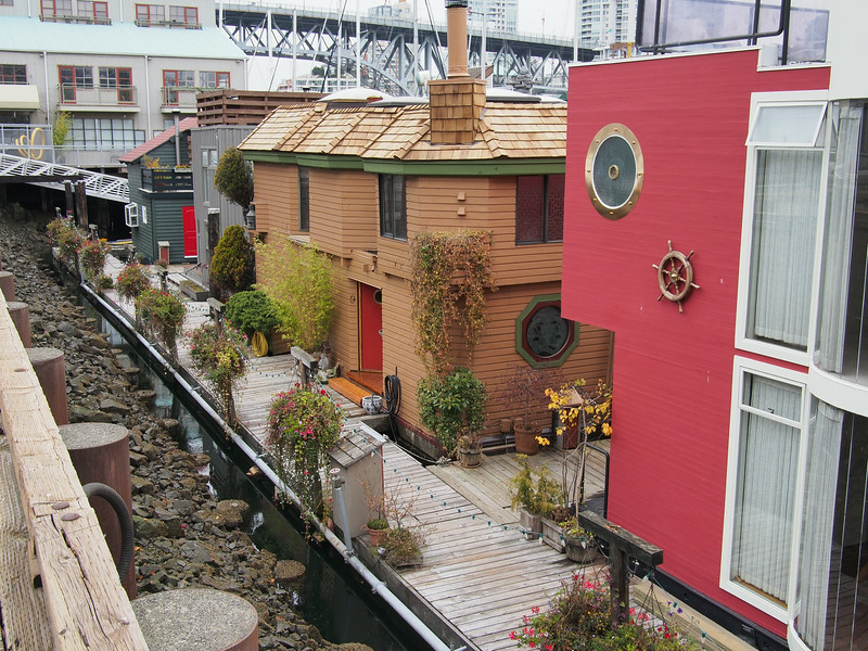 Oct. 19/13 - The Sea Village on Granville Island
