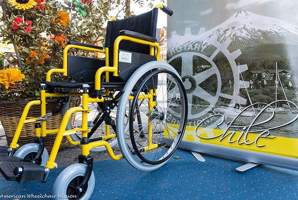 2016 Chile Wheelchair Distributions
