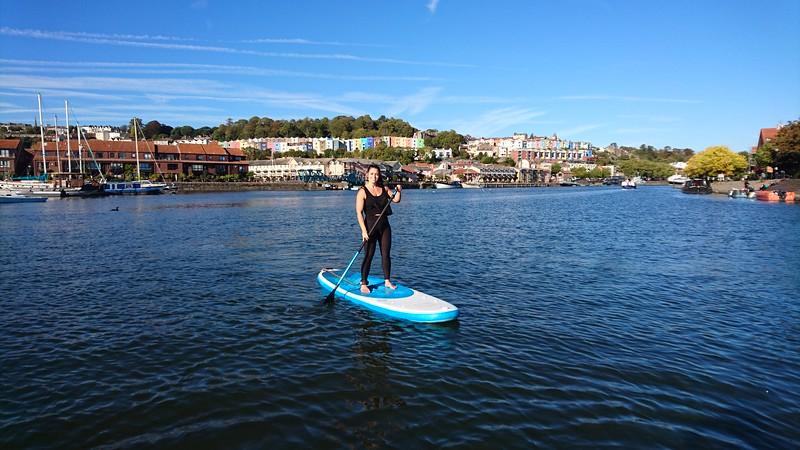 VWV Paddleboarding, 27 Sep (Tim & Jamie)
