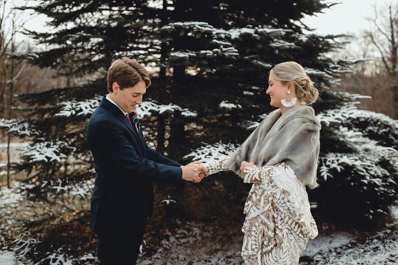 Requiem Images - Luxury Boho Winter Mountain Intimate Wedding - Seven Springs - Laurel Highlands - Blake Holly -526.jpg