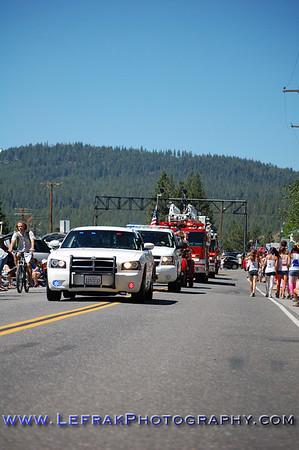 Truckee July 4th Parade 2011