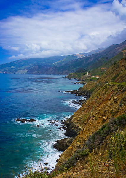 Pacific Coast Highway Cliff