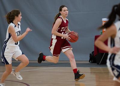 1/18/17: Girls' JV Basketball vs Kent