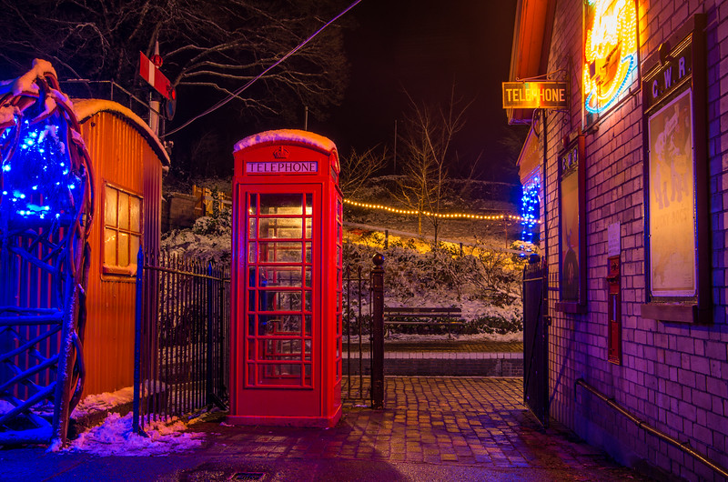 Telephone box, Arley
