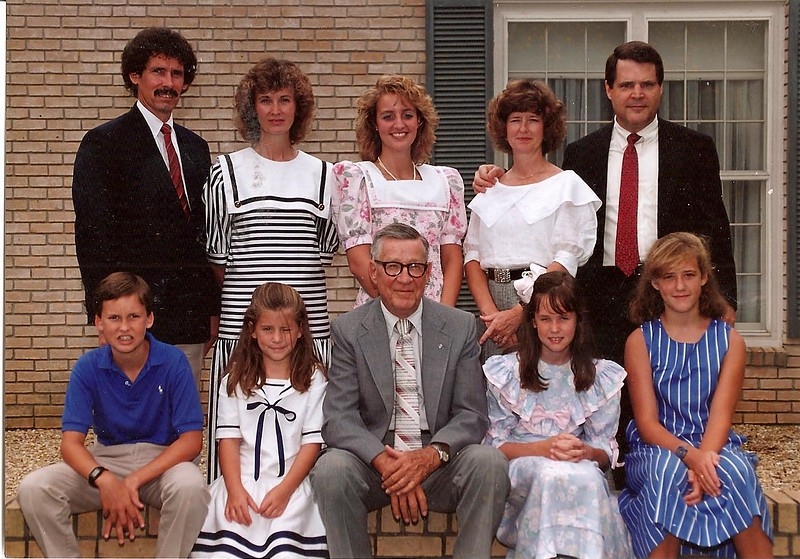 Really bad Hair period for the Cerne's and Flinn's - 1989ish?