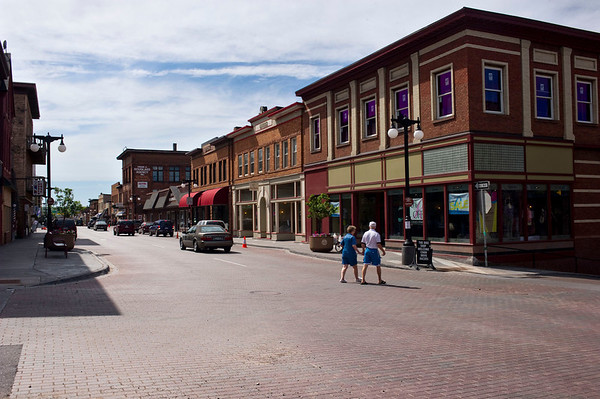 Houghton Downtown Streetscape Houghton, MI