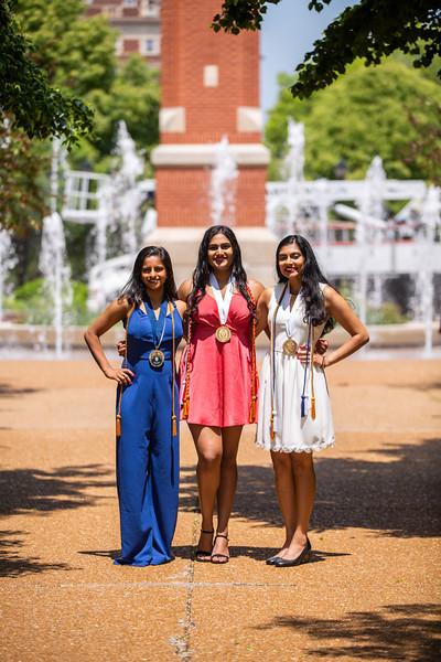 Shivam and the Girls Graduation Shoot 2019