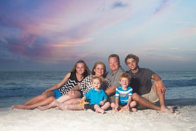Fields Family Vacation in Panama City Beach 2015