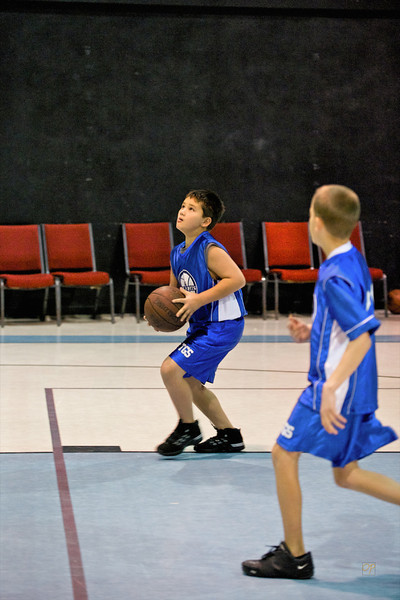 Fourth Grade Basketball vs. Celtics, January 24, 2009