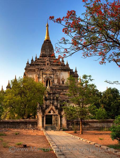 """Gawtawthin Pagoda. Bagan. 15"""" x 20"""""""