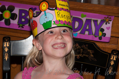 Raegan's 6th Birthday