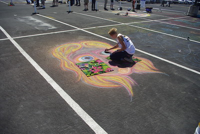 Chalk Art Festival Artown Atlantis July 10 2016