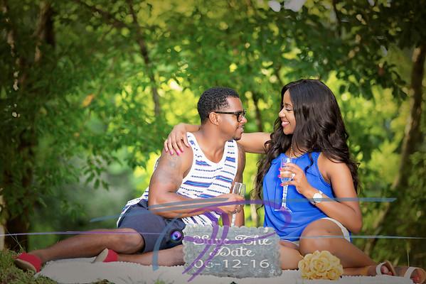 Tiffany and Lamar Engagement 8-22-15