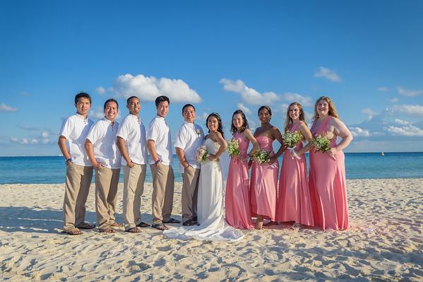 Marinel's and Kelvin's Wedding