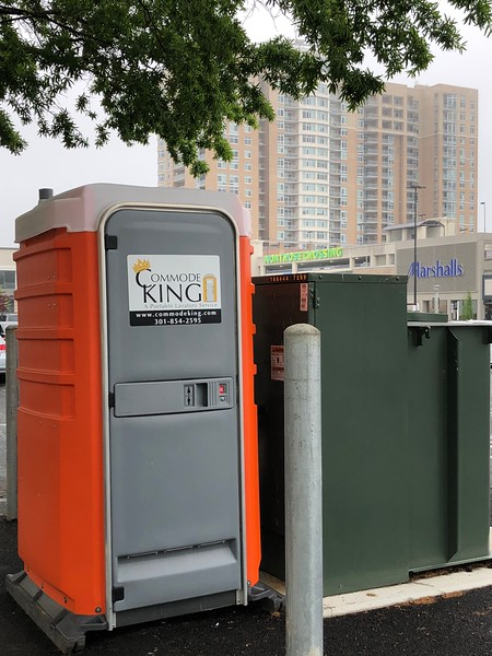 Commode King, Rockville, Maryland (May 2018)