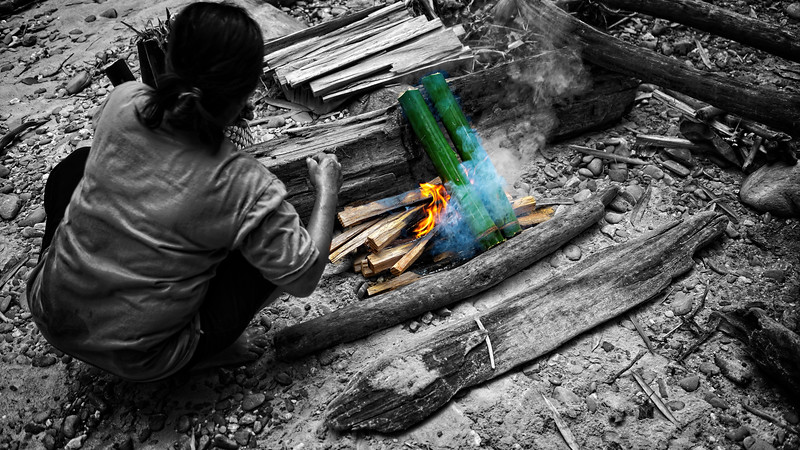 Iban Bamboo BBQ