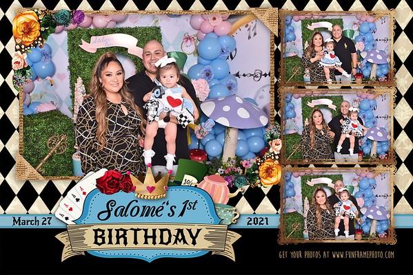Salome's 1st Birthday