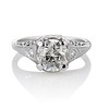 1.88ctw Platinum Filigree Solitaire Ring by C.D. Peacock, GIA S-T, VS 1