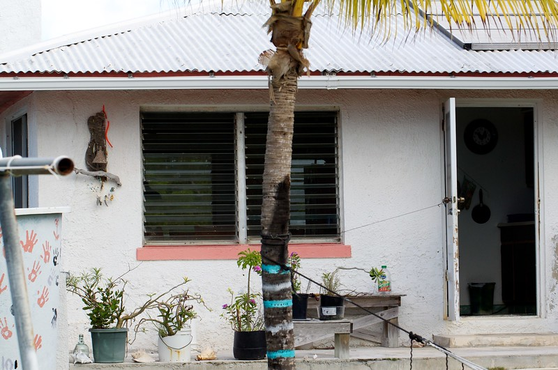 The house at Little Deadman's Cay