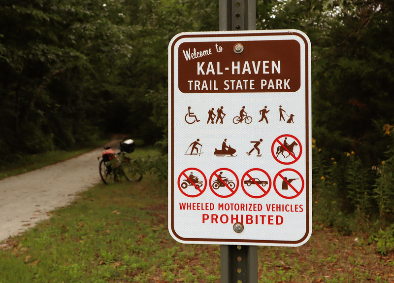 Kal-Haven Trail at Alamo