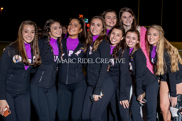 Broughton varsity football vs Cardinal Gibbons. Band and Dance Team Senior Night. October 25, 2019. MRC_3821