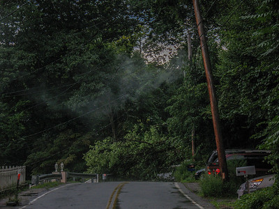 8-21-09 Wires Down, Dogwood Road