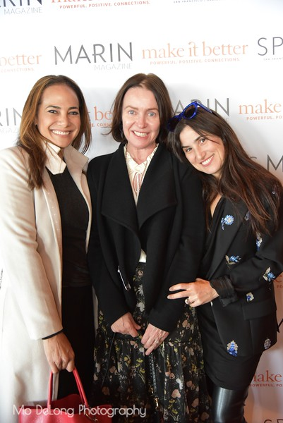 Gina Pell, Margaret O'Leary and Zem Joaquin