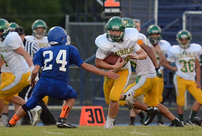 Football - Catholic JV 2014 - Marshfield