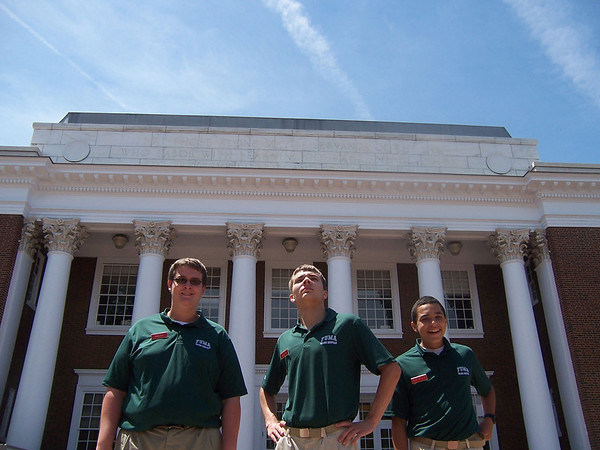 Summer Physics and Trig classes take trip to UVA