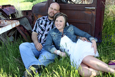 Phil & Katrina (spring engagements)