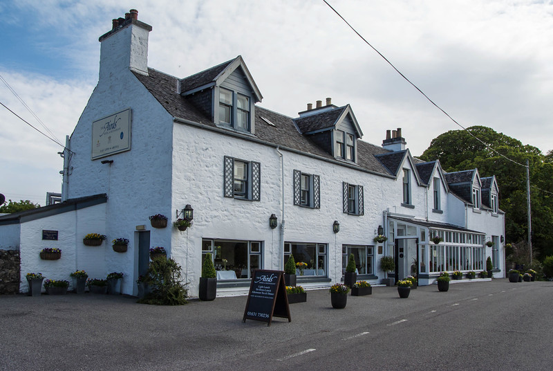 Our hotel in Port Appin