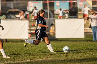 2012 PHS JV Girls Soccer vs Jeffersonville