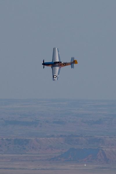 P-51 Flyover of Little Sahara, Waynoka, OK