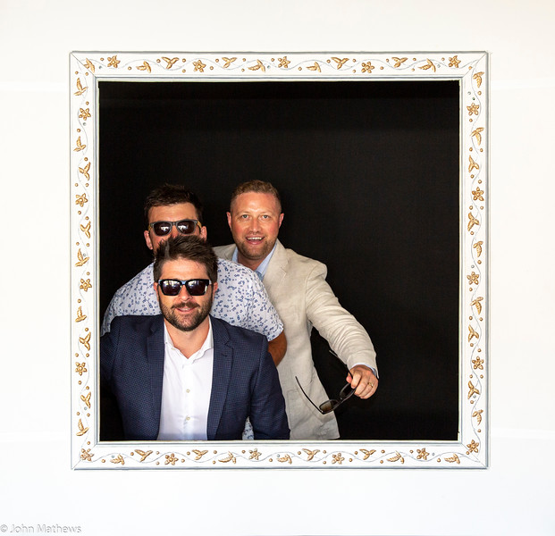 Image of Rickie, Bevan and Jamie taken at the wedding of Sam Judge and Brad Carter on 26 February 2021 held at Marlborough Vintners Hotel, Blenheim, New Zealand.   copyright John Mathews 2021.       www.megasportmedia.co.nz