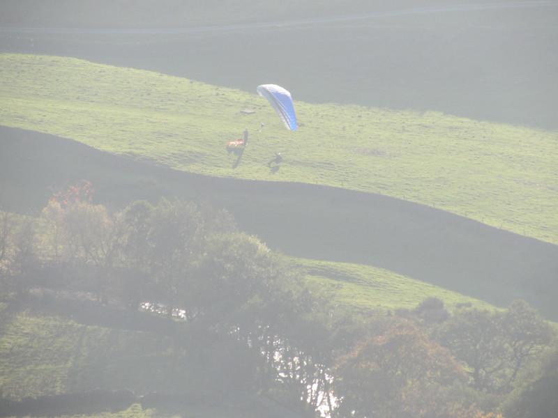Bottom landing