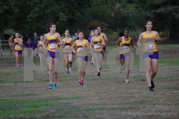 2017-09-20 Issaquah Girls Cross Country vs Mount Si vs Woodinville