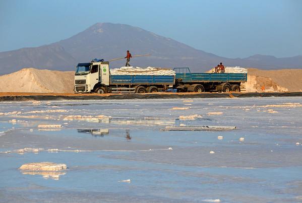 Lake Afrera and Salt Beds