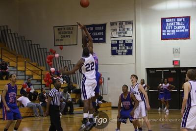 Southwest v North Basketball 2-13-09